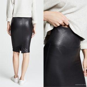 70eb58847 SPANX Skirts | Faux Leather Pencil Skirt | Poshmark